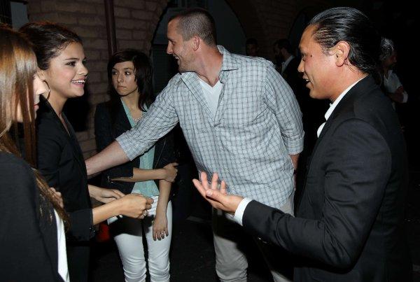 14/06/12: Selena à un évènement à Los Angeles.