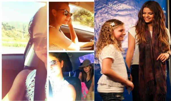 26/06/12: Sel est allée visiter la fondation Make A Wish.