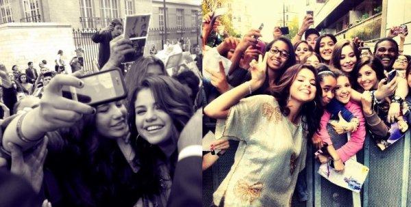 03/09/12: Selena interviewé par NRJ chez Cauet à Paris.