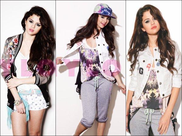 Photoshoot  de Selena pour le magazine NYLON.