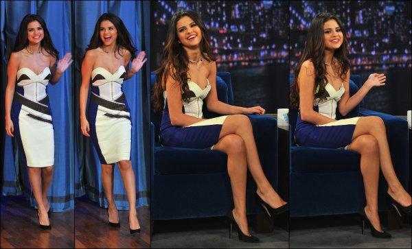 Le 18/03/13, Selena s'est rendue au Jimmy Fallon Show pour une nouvelle interview.