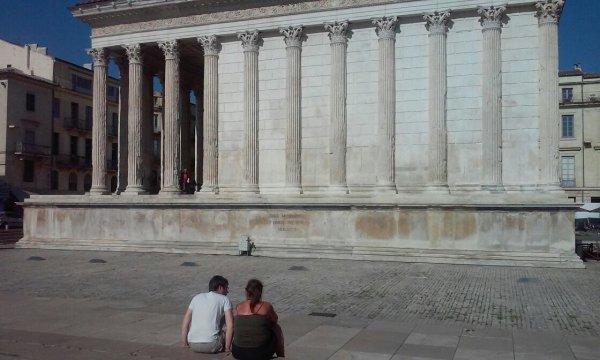 Après-midi à Nîmes