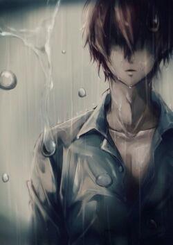 Ayato-kun sous la pluie