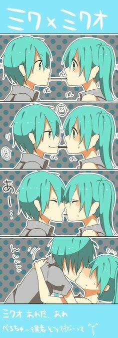 Miku et Mikuo