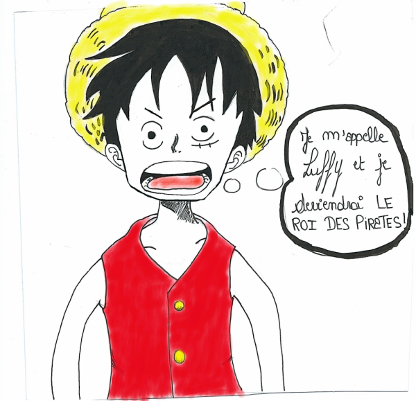 Luffy by me