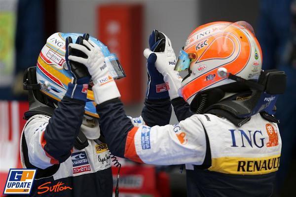 La saison 2008 de Renault en direct !!!!!