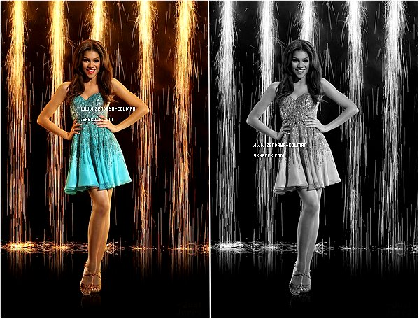 ♥♥  Zendaya est son partenaire de Dance Val Chmerikovskiy pour Dancing With The Star. Je trouve ces deux photos très jolies. + le dress like de Zendy.