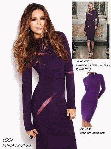 robe violette PHOTOSHOOT FASHION MAGAZINE