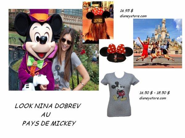 Nina au Pays de Mickey !