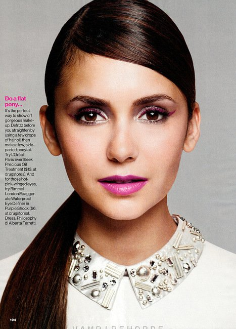 Nina fait la couverture de GLAMOUR novembre 2012 !