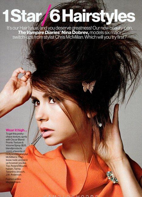 GLAMOUR NOVEMBRE 2012 !