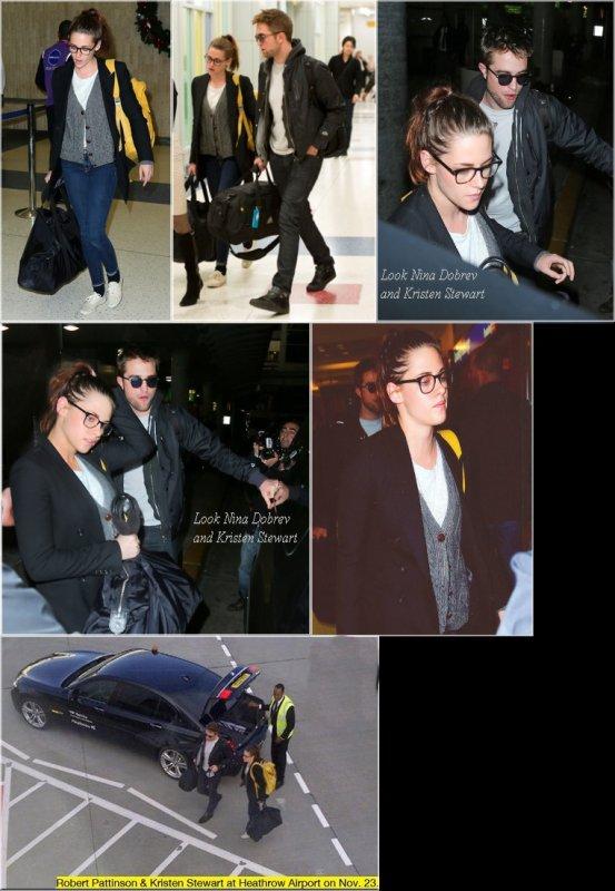 Kristen et Rob à l'aéropport JFK !