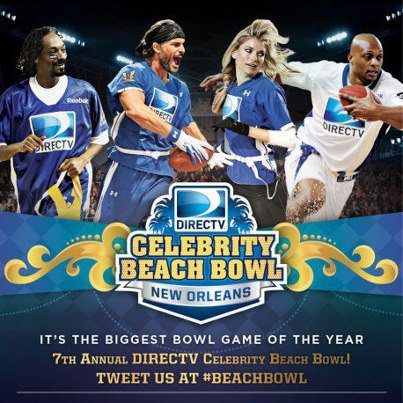 7ème CELEBRITY BEACH BOWL !