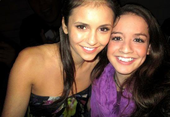 Nina Dobrev is super nice to her fans