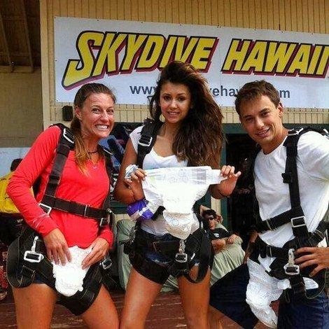 Nina à l'aéroport de Maui