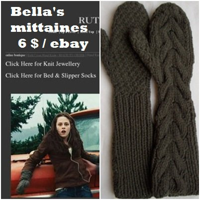 LOOK DE BELLA SWAN DANS FASCINATION TWILIGHT 1