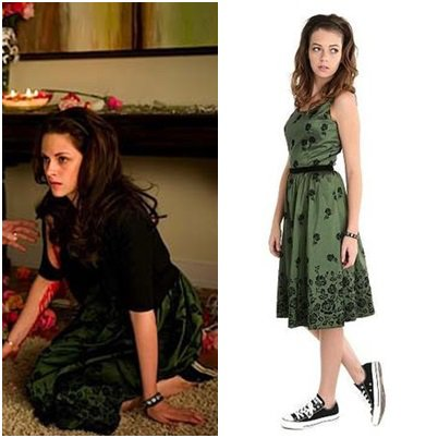 LOOK DE BELLA SWAN DANS TENTATION TWILIGHT 2 NEW MOON