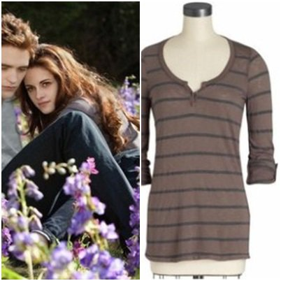 LOOK DE BELLA SWAN DANS HESITATION TWILIGHT 3 ECLIPSE