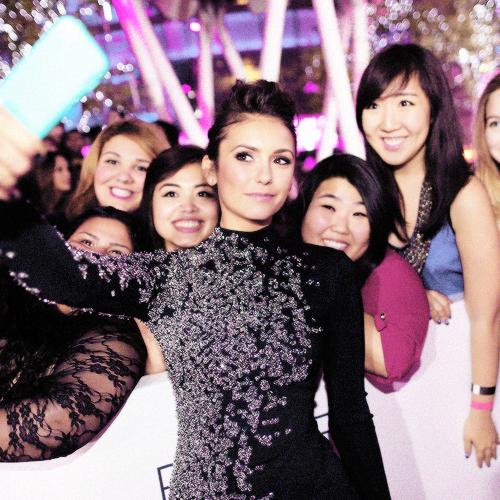 Nina et ses fans au PCA