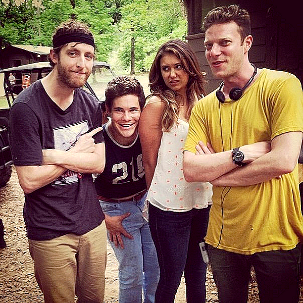 "sur le set de  ""The Final Girls"""