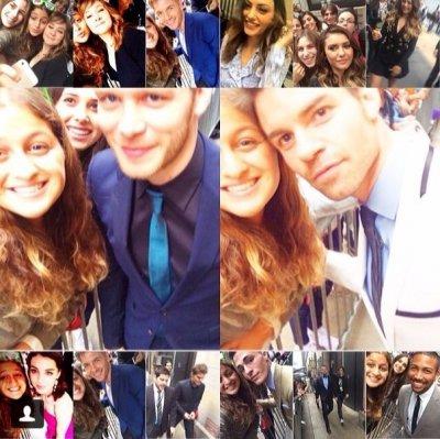 fan selfy au UPFRONTS 2014