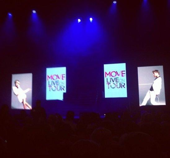 11 juillet 2014:  MOVE LIVE TOUR