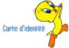 Carte D ' Identite De Tweety ( Ou Titti)