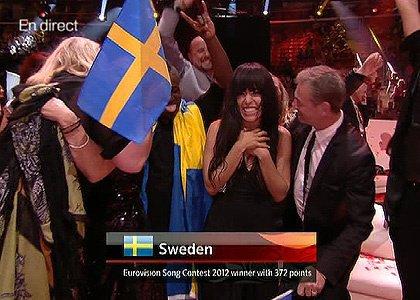 la gagnante de l eurovision