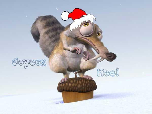 Joyeu Noel De Scrat