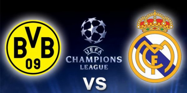 Composition Dortmund- Real Demi Finale Aller Ligue Des Champions 2012_2013
