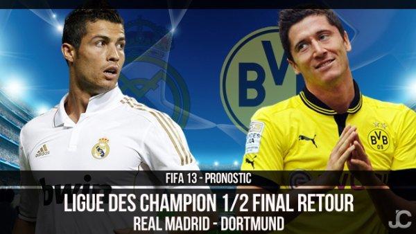 Ligue des Champions: Dortmund en finale, le Real Madrid échoue encore