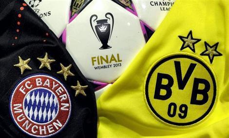Ligue des champions d'Europe : LE BAYERN REJOINT DORTMUND EN FINALE