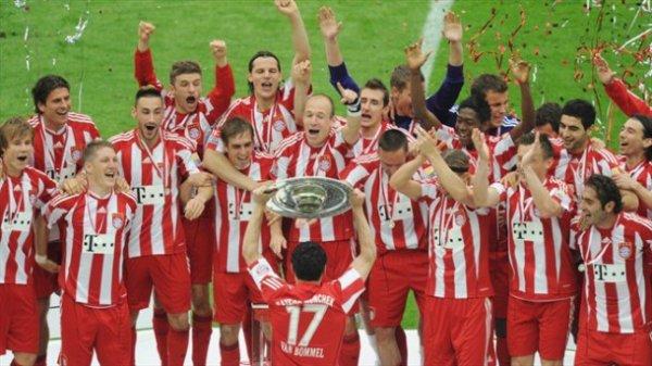 Bayern De Munich Champion De Bundesliga 2012-2013