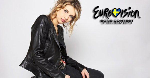Amandine Bourgois Pour L Eurovision 2013