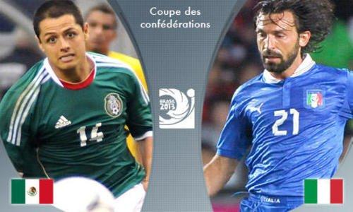 Coupe des Confédérations - L'Italie vient à bout du Mexique 2-1