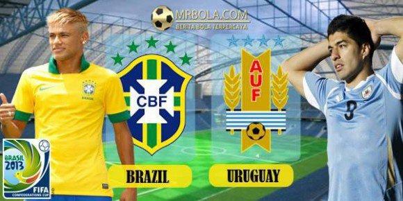 BRESIL - URUGUAY : 2-1