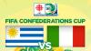 Coupe des Confédérations 2013 : Uruguay-Italie : 2-2 (2-3 t.a.b), l'Italie décroche la 3e place !