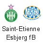 (Barrages retour) : Saint-Etienne - Esbjerg (0-1) (Barrages retour) : Nice-Apollon Limassol (1-0)