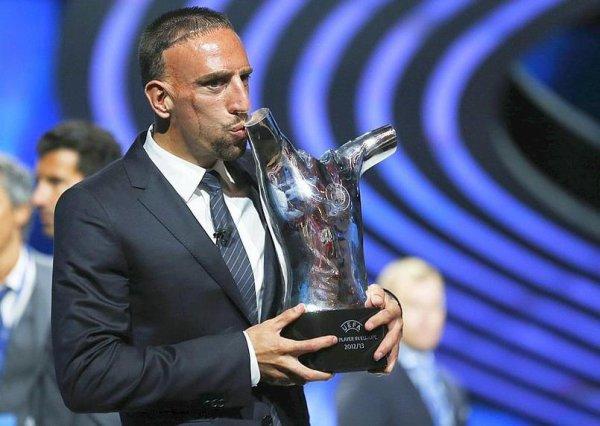 Ribéry joueur de l'année