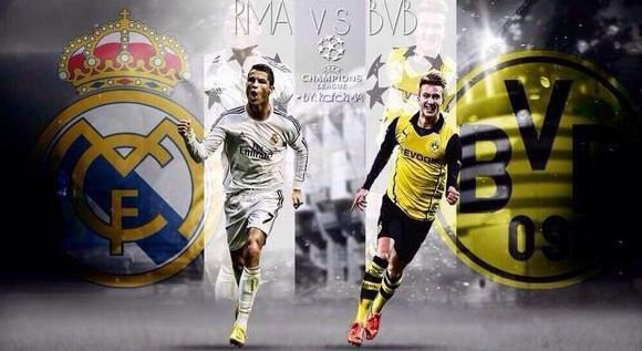 Ligue des Champions 2014 : Borussia Dortmund - Real Madrid 2-0, le Real qualifié de justesse !