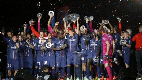 Ligue 1 (38ème journée) : Evian crucifie Sochaux, Lille jouera la C1 et l'OL la C3 PSG Champion De France De Ligue 1