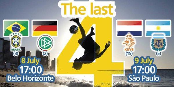 Demi Finale Coupe Du Monde 2014