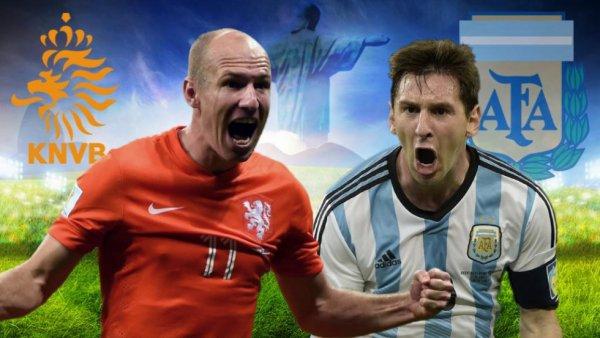 la demi-finale Argentine – Pays-Bas