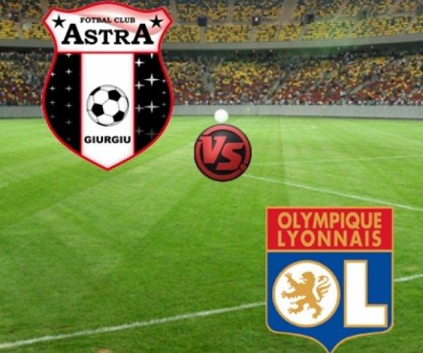 FC Astra Giurgiu - Lyon : 0-1