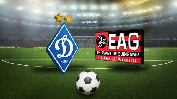 Dynamo Kiev-Guingamp (3-1), Guingamp cède avec les honneurs