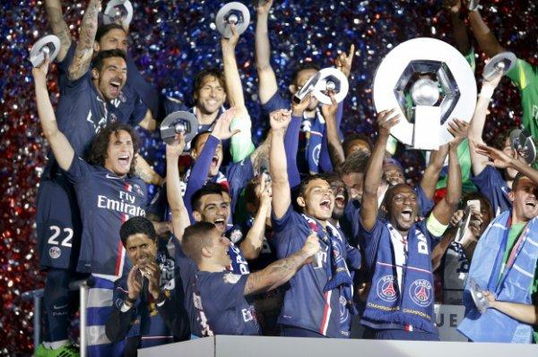 Ligue 1 - 38e journée : Monaco termine troisième, l'OM et Saint-Etienne au pied du podium, le PSG fête son titre