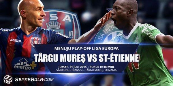 Ligue Europa: Saint-Etienne débute en fanfare contre Targu Mures (0-3)