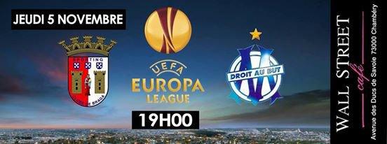 L'OM se relance en battant Braga (1-0)