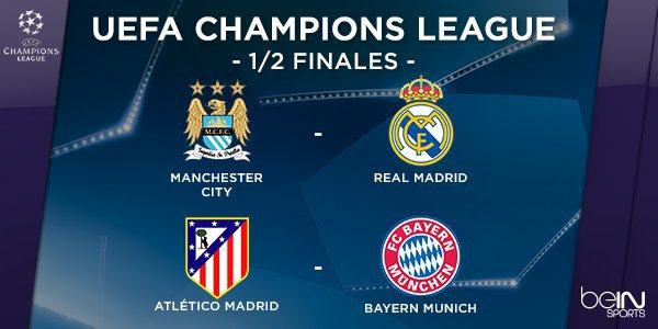 Demi-finales de C1 : Un choc Atlético de Madrid - Bayern Munich