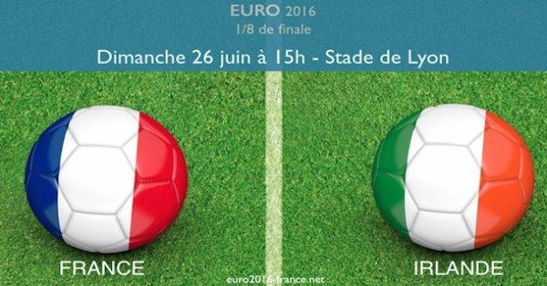 L'équipe de France renverse l'Irlande et rejoint les quarts